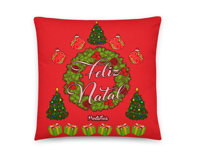 Feliz Natal Pillow