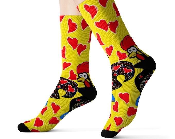 Barcelos Rooster Socks