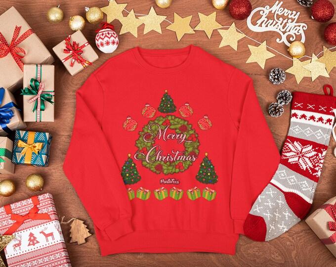Merry Christmas Sweater (Unisex)