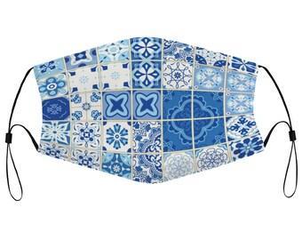 Azulejos - Adjustable Mask