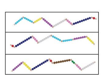 Montessori Math  Etsy Math Making  Worksheet  Montessori Math Worksheet  Make Ten  Montessori  Snake Game  Addition Worksheet  Pdf Math Worksheet