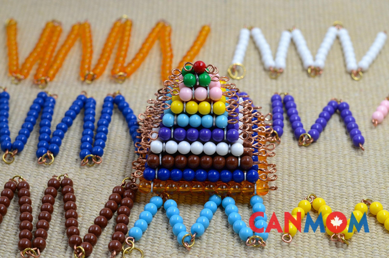 Montessori lernen Multiplikation Mathe Spielzeug überspringen | Etsy