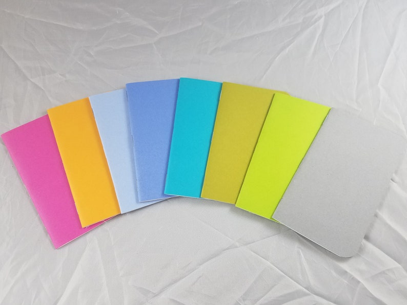 3x5 32 Page Handmade Blank Notebook  Dot Grid  image 0