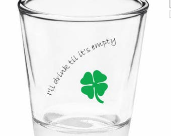 Niall Horan On My Own Shot Glass/Pint Glass