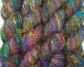 100-Grams A-Grade Himalaya Recycled PURE SILK SOFT Yarn Knit Woven Crochet 1 Skeins