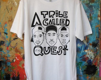A Tribe Called Quest T-shirt - White (unisex)