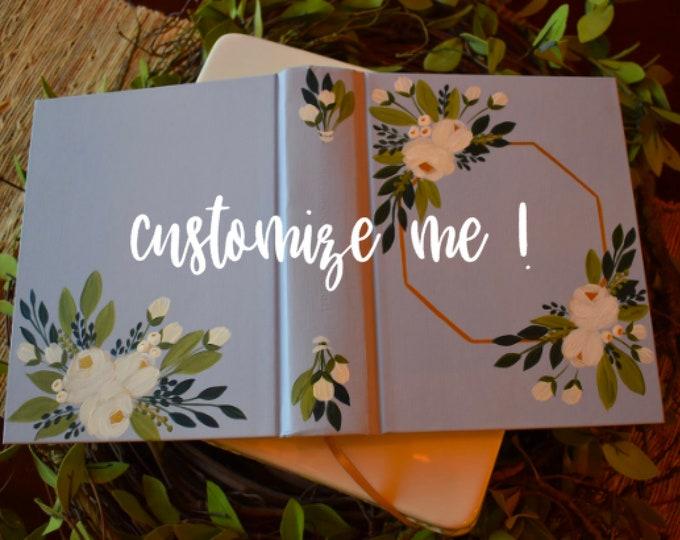 Custom Hand Painted Bible | Personalized Keepsake