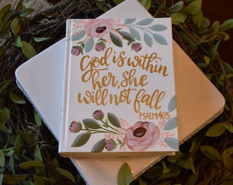 Custom Hand Painted Bible | Baptism Gift | Graduation Gift | Personalized Keepsake