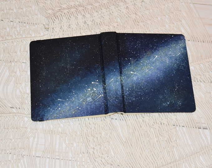 Hand Painted Bible // Quick Ship // Galaxy Star Bible // Personalized Keepsake