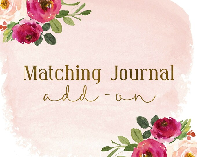 Prayer Journal // Writing Journal // Custom Journal