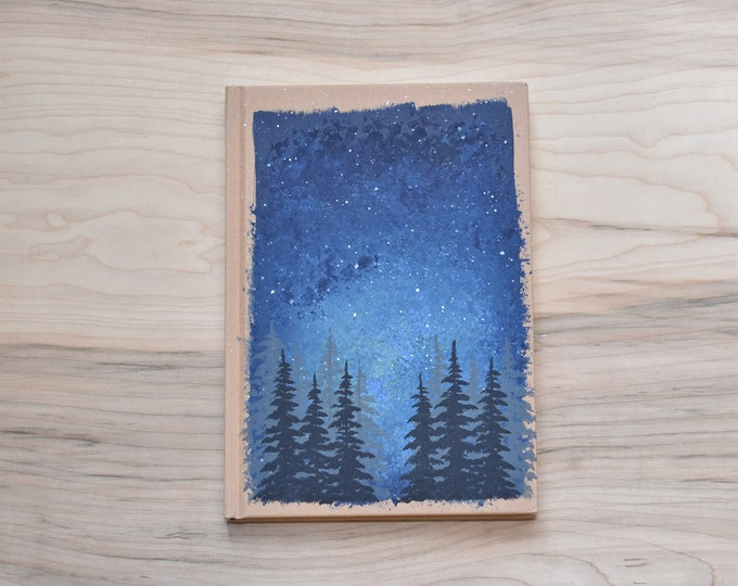 Hand Painted Customizable Journal
