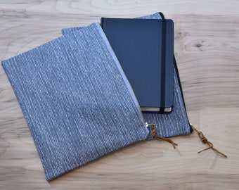 Bible Case // Gray Tweed // Zipper Pouch Bag