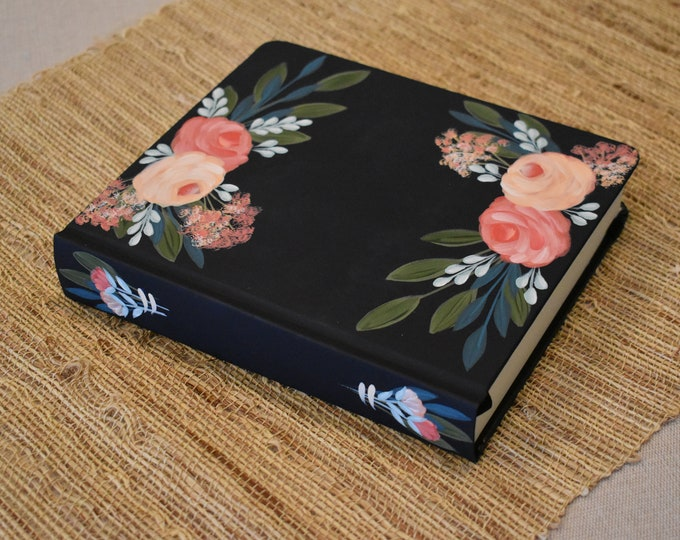 Hand Painted Bible // Custom Bible // Holy Bible // Personal Keepsake