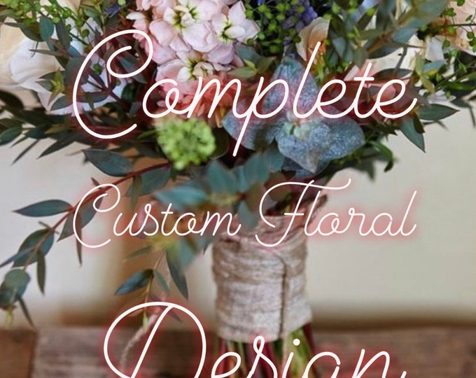 Hand Painted Bible // Complete Custom Floral Design // Personal Keepsake