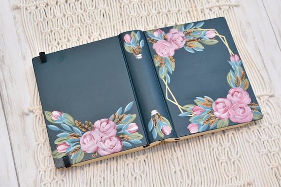 Hand Painted Bible, Quick Ship, Personal Custom Bible, Personalized Keepsake