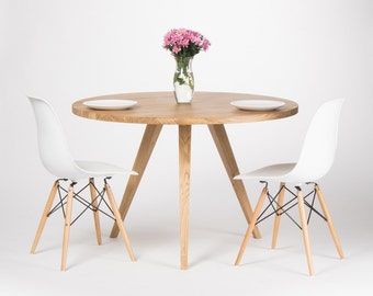 Ready To Ship - Round dining table a9f8ff7ab1
