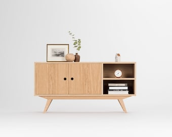 Record player stand, vinyl storage, tv stand, media cabinet