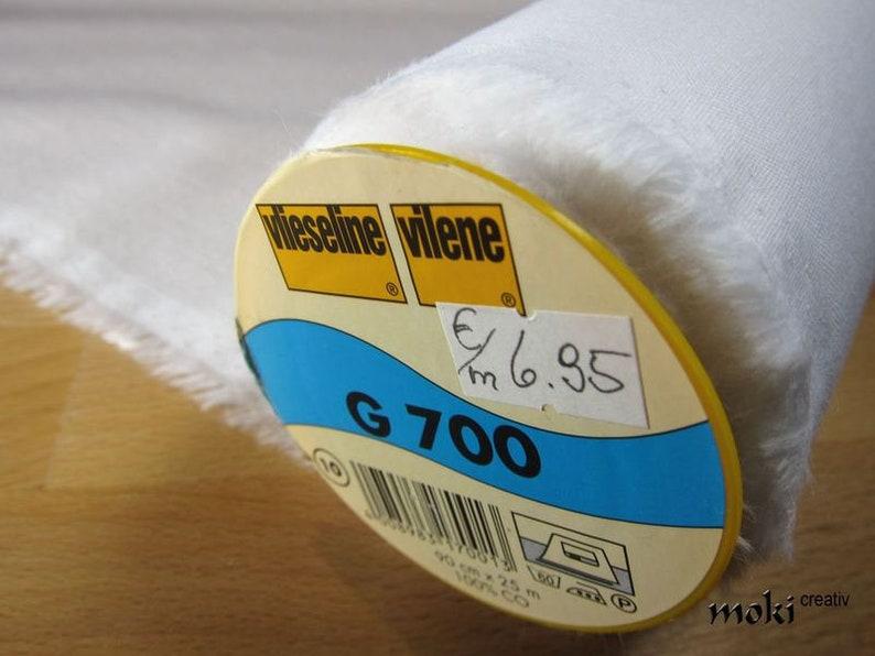 Vlieseline G700 Aufbügelbare Gewebeeinlage Weiß Von Etsy