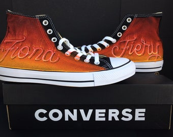 098a5f38 Custom Converse Sneakers Personalised Converse Chuck Taylor All Stars, Hand  Painted, Request Customized Coverse Graffiti Name, Glitter, Fire