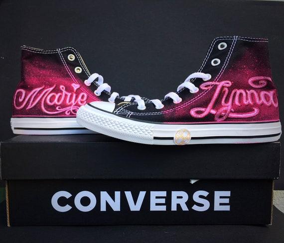 Custom Converse Sneakers Personalised