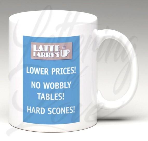 Coffee Mug Gift Mug Curb Latte Larry David Latte Larry's Mocha Joe Mug Tea Cup