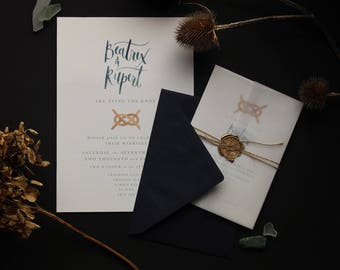 The Notting Hill Wedding Set - Packs of 25 - Invitations