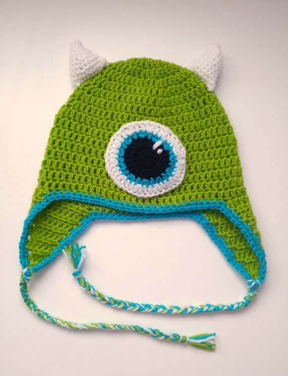 Mike Gutterballs Monsters Inc Monsters University Haak Domme Etsy