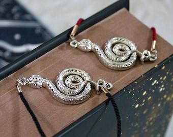 Snake Adjustable Corded Bracelet