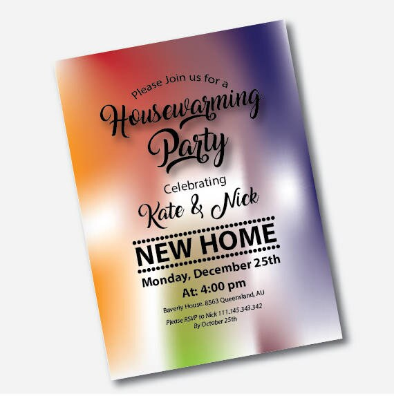 Housewarming Party Invitation Housewarming Invites Housewarming Invitation Instant Download Housewarming Invitation Printable New House