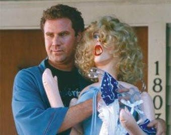 "Old School - Will Ferrell & Doll - 24x36"" Poster"
