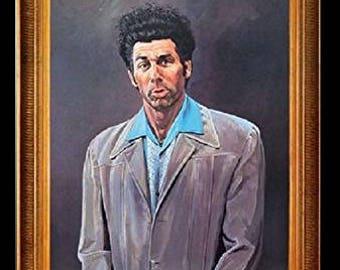 Kramer - Framed  sc 1 st  Etsy & Cosmo kramer   Etsy