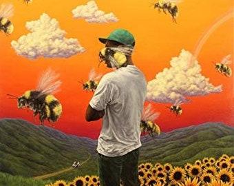 2de5bd03a07c38 Tyler The Creator Flower Boy Poster