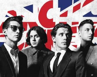 """Arctic Monkeys - Flag - 24x36"""" Poster"""