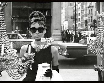 Audrey Hepburn - Window Shopping - Breakfast at Tiffany's Poster