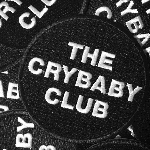 Embroidered CLub Patch | The Crybaby Club patch | Crybaby Circle Logo Patch