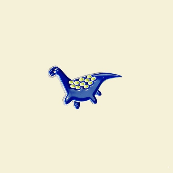 Loch Ness Monster enamel pin | Lapel Pin | Dinosaur | Cryptid | Cryptozoology| Nessie Lives | The Crybaby Club