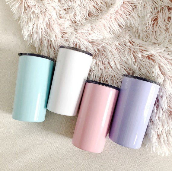 Stainless Steel DIY mini tumbler | Stickers and Tumblers | DIY Fun Coffee Tumbler | The Crybaby Club