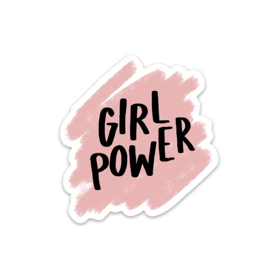 Girl Power sticker | Feminism | Girl Gang | Cute Sticker | Crybaby | The Crybaby Club