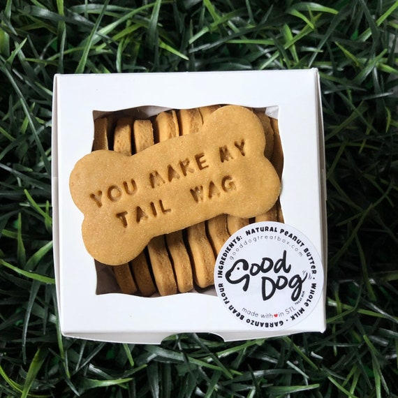 You Make My Tail Wag - Grain Free Peanut Butter Dog Treats