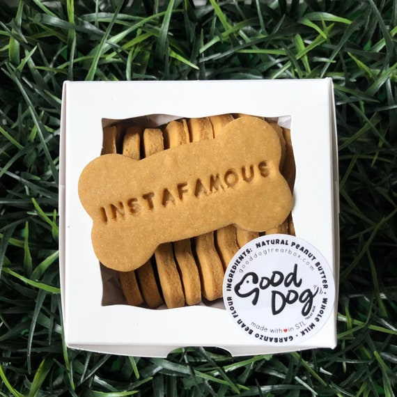 Instafamous - Grain Free Peanut Butter Dog Treats