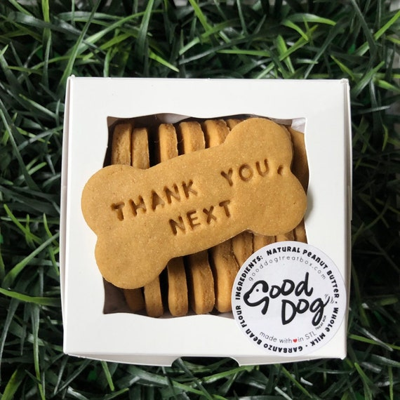 Thank You, Next - Grain Free Peanut Butter Dog Treats