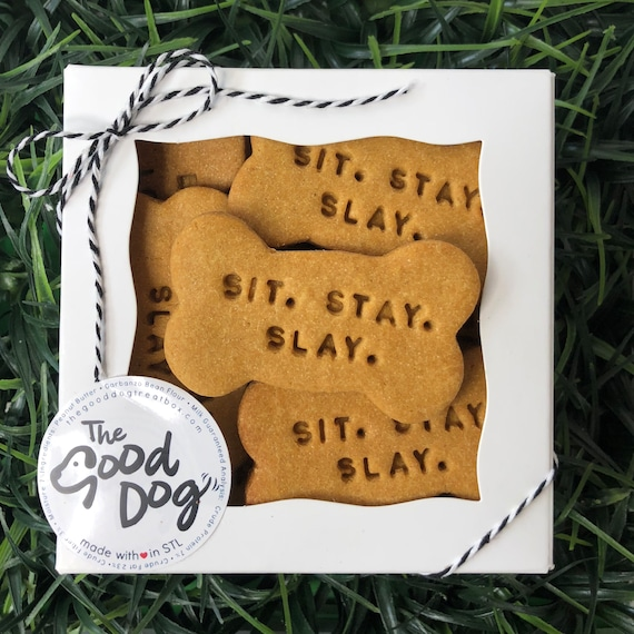 Sit. Stay. Slay. Treat Box