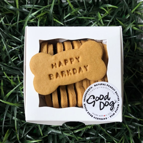 Happy Barkday - Grain Free Peanut Butter Dog Treats