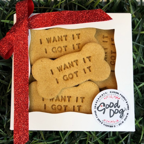 I Want It, I Got It - Grain Free Peanut Butter Dog Treats