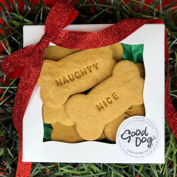 Naughty / Nice Grain Free Peanut Butter Dog Treats