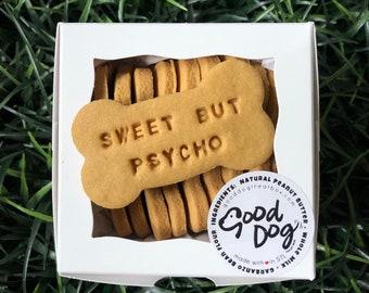Sweet But Psycho - Grain Free Peanut Butter Dog Treats