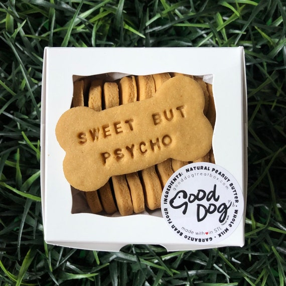 Sweet But Psycho - Grain Free Peanut Butter Dog Treats