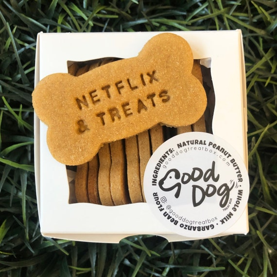 Netflix & Treats Grain Free Peanut Butter Dog Treats