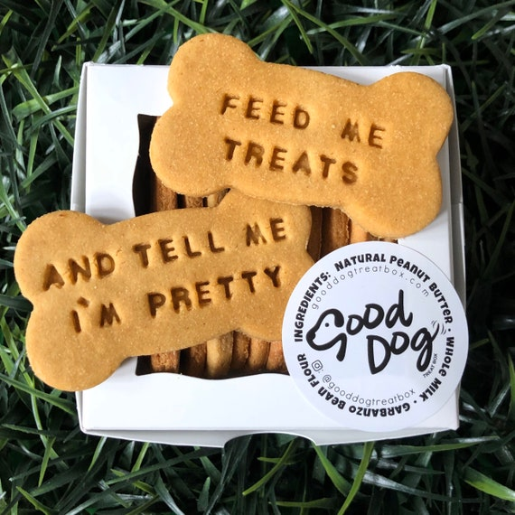 Feed Me Treats And Tell Me I'm Pretty Grain Free Peanut Butter Dog Treats
