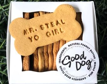 Mr. Steal Yo Girl Grain Free Peanut Butter Dog Treats